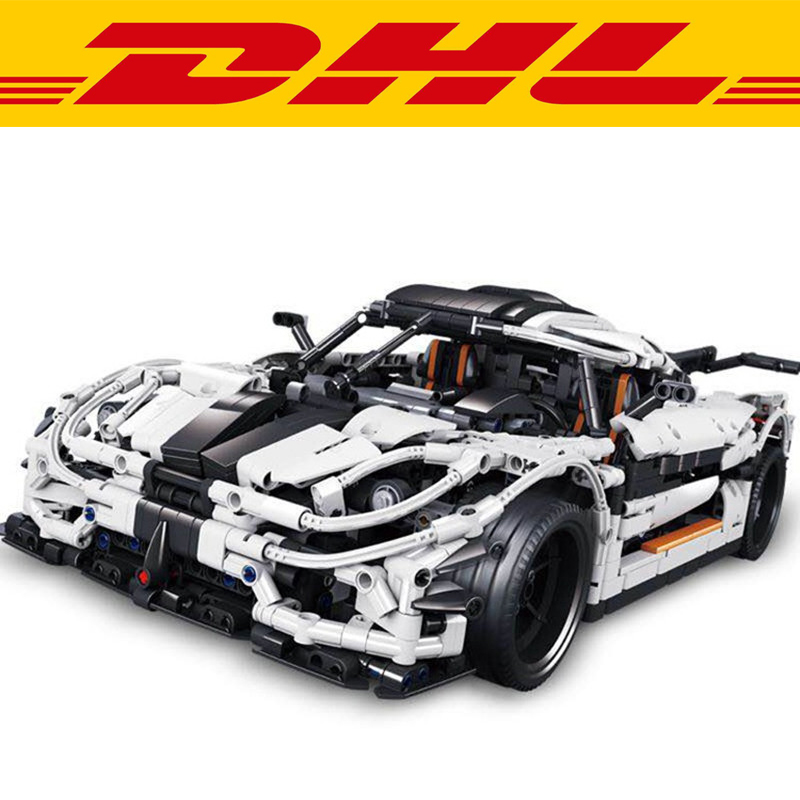 2017 New 3236Pcs Technology Series Koenigsegg super sports car One1 Car  Model Building Kit Block Bricks Children With Toys Gift