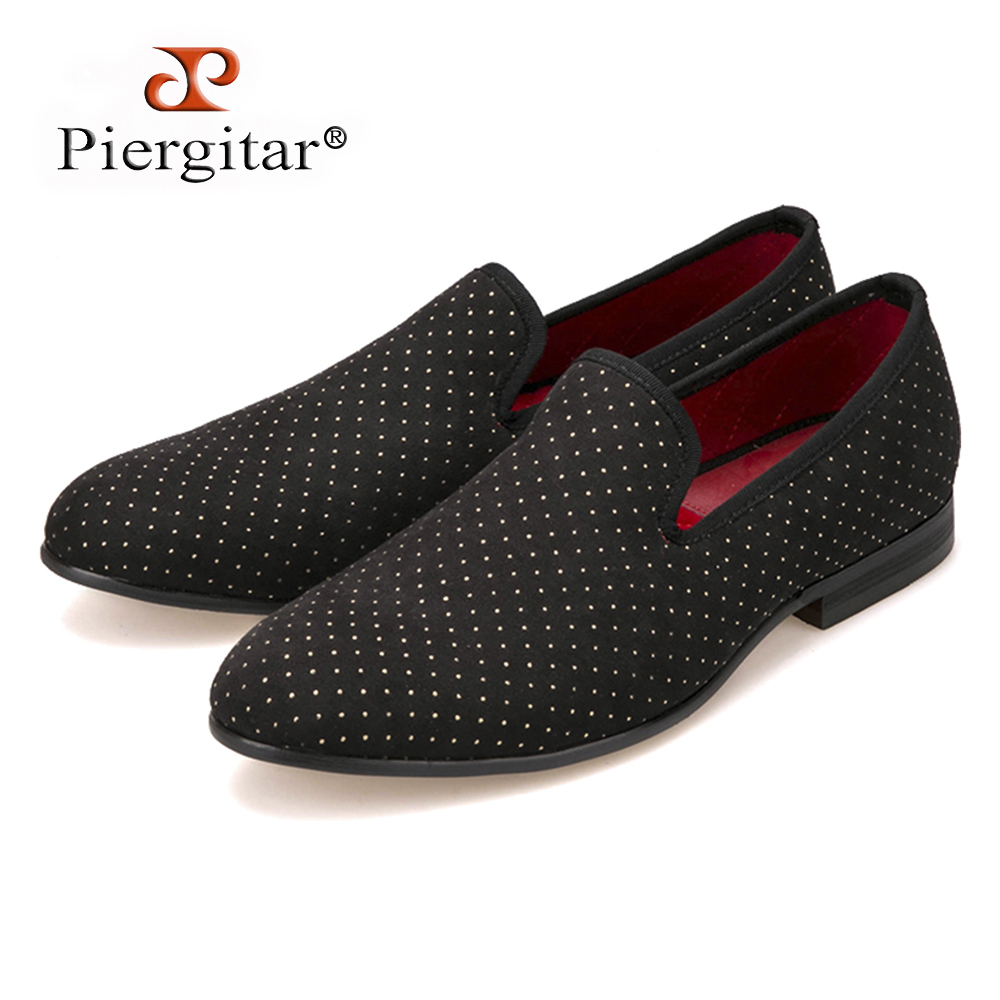 2016 new arrival Polka Dots design men handmade shoes men casual loafers Plus size male's flats Size US 4-17 Free shipping