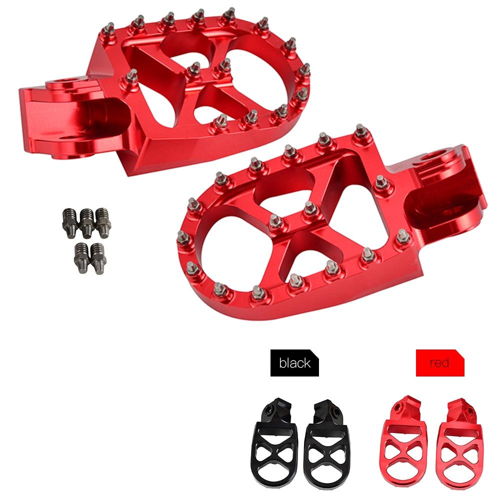 Racing Foot Peg Footrest Pedals For Beta 125 250 350 390 400 430 450 480 498 500 RR 2T 4T XTrainer 250/300 Motard 400 450 525