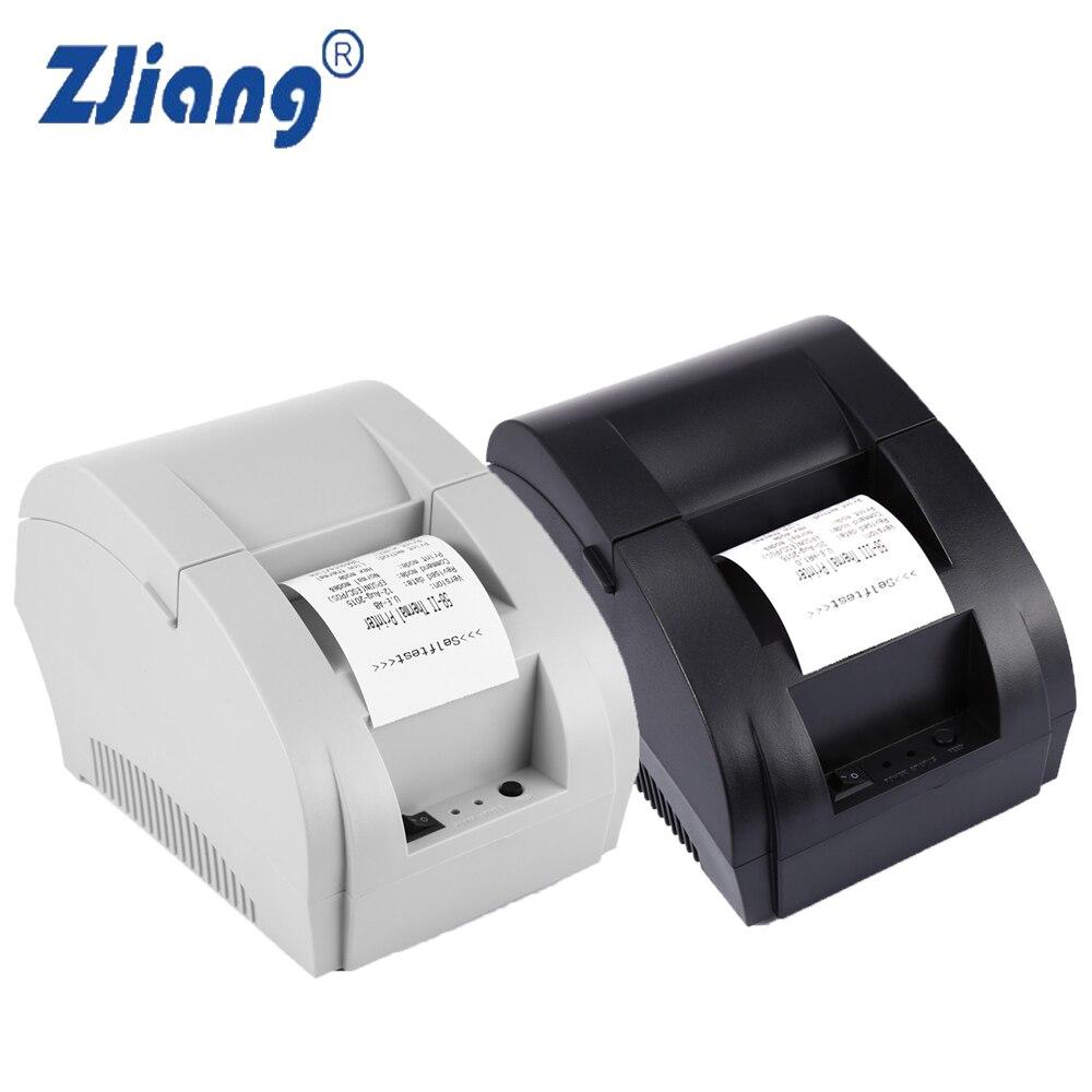 ZJ-5890 Karat Mini 58mm POS Eingang Thermodrucker mit Usb-anschluss Für Kommerziellen Einzelhandel Kassensysteme