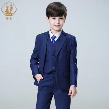 925ef3263 Ágil traje para niño Formal para niños trajes para bodas Terno Infantil  traje Enfant Garcon Mariage traje de bebé