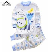 1 2 3 years costume baby toddler sleep set Loungewear for children Pyjama set homewear boys