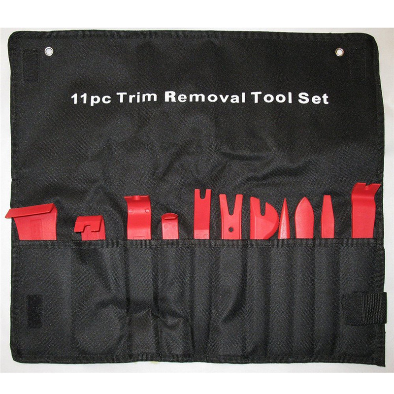 11Pcs Red Nylon Auto Car Audio Door Dash Tirm Panel Install & Removal Pry Tools SA606 11pcs new red nylon auto car audio door dash tirm panel install