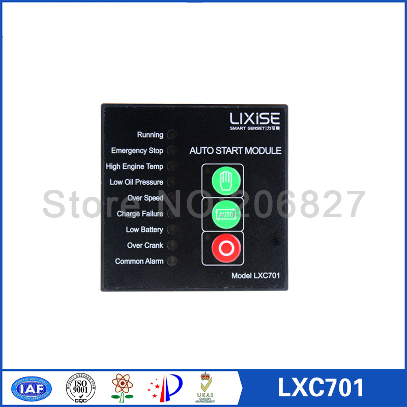 Generator controller LXC701 same size and same functions as DSE701 generator controller same