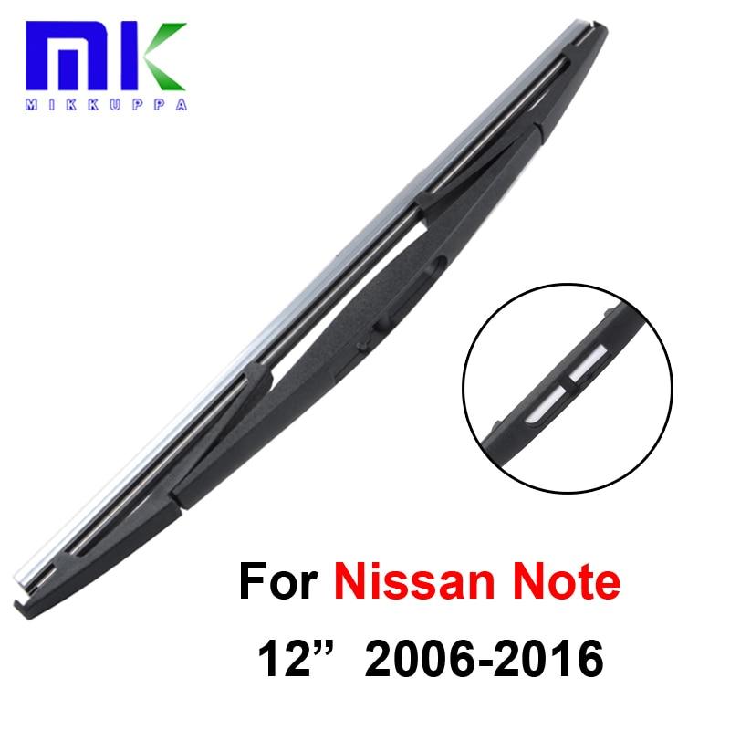 2016 Nissan Versa Exterior: Mikkuppa Front & Rear Wiper Blades