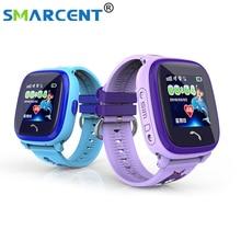 Водонепроницаемый DF25 Q100 Детей GPS Плавать сенсорный телефон smart watch SOS Вызова Расположение Устройства Трекер Дети Безопасный Anti-Потерянный монитор дети часы с gps часы gps детские часы с gps трекер для детей