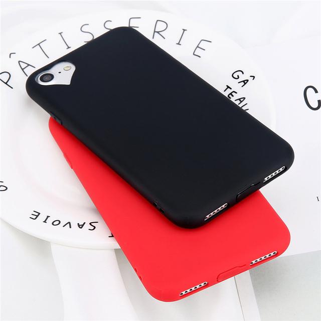 Silicone Matte Phone Case