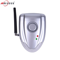 No Installation DIY Two Way Car Alarm DIYV2 Auto Security System with Wireless Alarm Siren and No Wires Connect to Car DC 12 24V