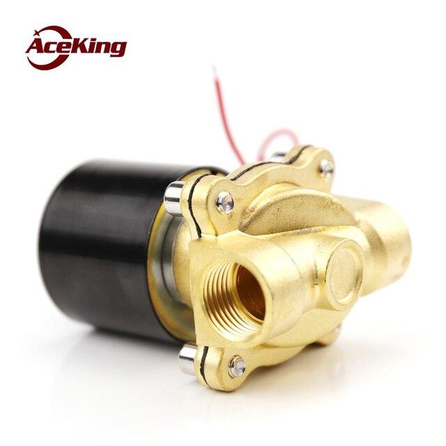 Фото электромагнитный водяной клапан воздушный 2w160 15/2w200 20/2w250 цена