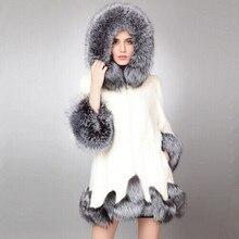 2017 новая зима новый имитация лиса шубу норки На Ближнем Востоке роскошные женщины длинное пальто из искусственного меха куртки пальто женщин платье большой размер