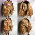 8А Полное кружева человеческих волос парики русый полный парик шнурка два тона ломбер фронта шнурка человеческих волос парики короткие человеческих волос парики с ребенком волос