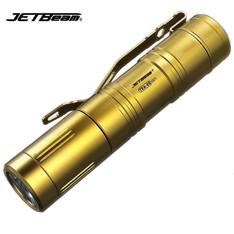 купить Jetbeam TEA20 Cree XP-G2 420 LM Titanium Led Flashlight with Keychain by AA Battery for Medical, Maintenance, Daily life недорого
