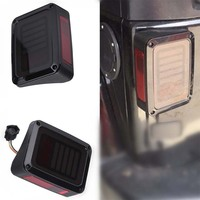For Jeep Wrangler Accessories JK 12V Auto LED Rear Tail Light Brake Turn Signal Reverse Taillights