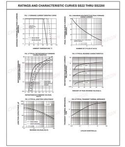 (100 шт.) SS26 SMD Schottky барьерные выпрямительные диоды 2A 60 V SMA (DO-214AC) 2 ампер 60 вольт