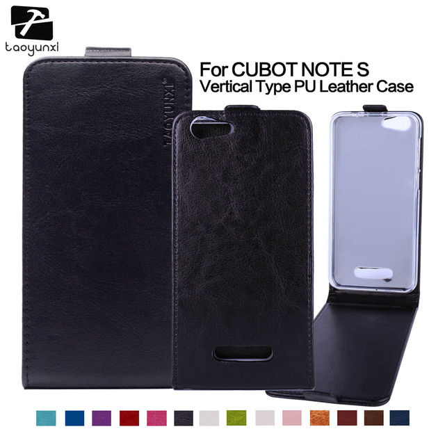 TAOYUNXI PU Leather Flip Phone Case Cover For Cubot Note S Cubot Dinosaur MTK6735A 5.5 Inch Case Cover Holster Housing