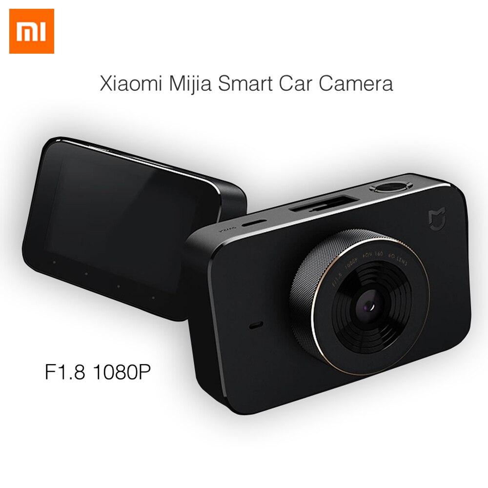 imágenes para Lo nuevo 2017 xiaomi mijia smart car cámara f1.8 1080 p 160 grados gran angular de 3 pulgadas de pantalla hd wifi conexión mi dvr del coche cámara