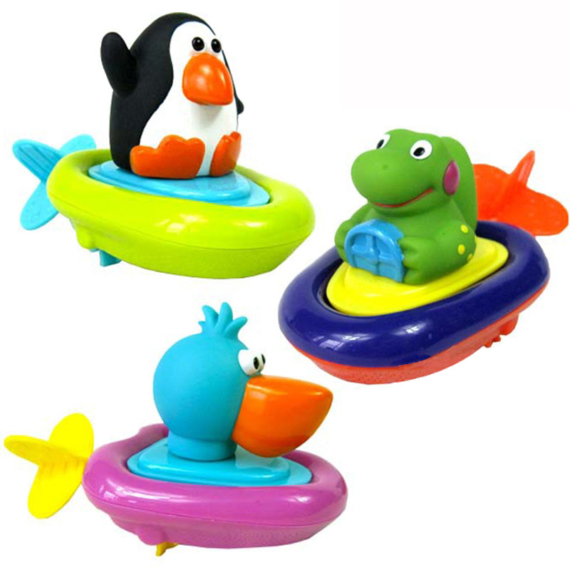 Aliexpress.com : Buy Top quality Pull and go boat bath toy baby ...
