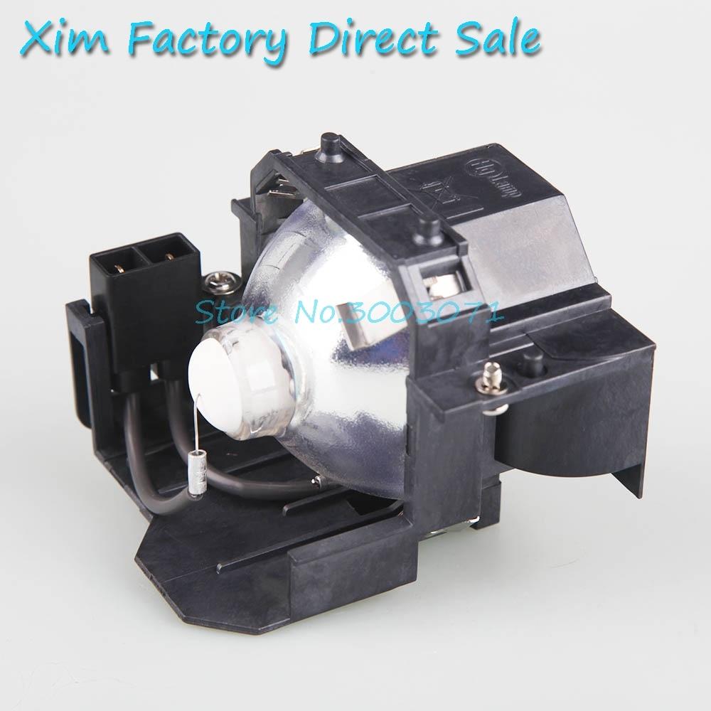 מערכות ניווט מנורה תואמת משלוח חינם ELPL42 V13H010L42 עם דיור Powerlite 83+, 83c, 822+, 822p עם EPSON מקרנים (1)