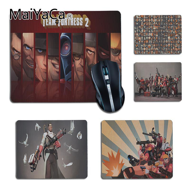 MaiYaCa Team Fortress 2 Silicone Pad to Mouse Game for LOL Game Playing Lover custom mouse pad Cool Gaming Mouse Pad Gamer