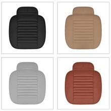 Quattro Stagioni Universale Traspirante Interni Auto Cuscino del Sedile di Bambù Del Carbone di Legna Auto Copertura di Sede Auto Forma Backless Cuscino