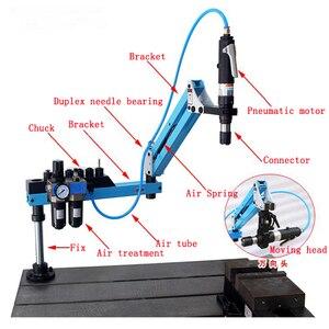 Image 4 - Pneumatische Tapping Machine Tikken Capaciteit M3 M12 Rocker Tikken Machine Universele Draad Tikken Machine Frame 400 Rpm 1 Pc