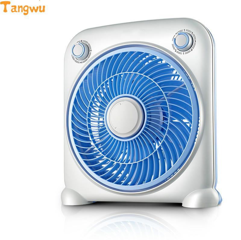 Free shipping Parts Life table household electric fan mini floor dormitory small mute Fans free shipping parts timing pitch three page fan head desktop mute fans