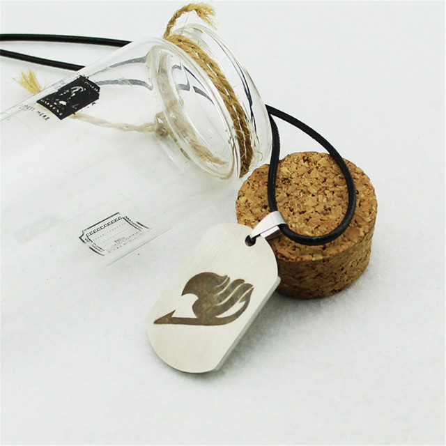 Fairy Tail Logo Titanium Steel Necklace Pendent