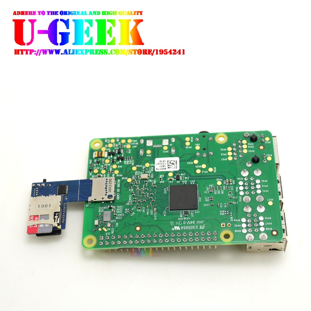 carte sd raspberry pi 3 UGEEK 2 in 1 micro SD card Dual System Switcher for Raspberry Pi 3