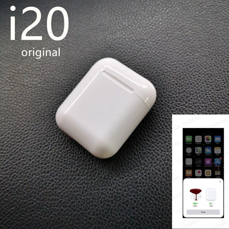 I20 Bluetooth TWS Écouteurs intra-auriculaires Sans Fil PK w1 puce i30 i60 i12 pop up LK-TE9 Écouteur 1:1 PK i11 i13 i14 i15 i16 tws