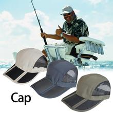 New Fishing Hats Summer Sunshade Anti-UV Sun Protection Hats Breathable Quick-drying Outdoo