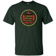 Canadian National Railway, CNR, Logo, Kereta Api, Kereta Api-G200 T-shirt(China)