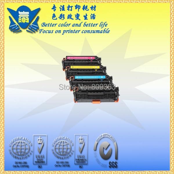 JIANYINGCHEN compatible color toner cartridge CRG318 replacement for Canon LBP7200cd 7200cdn 7660CDN MF8580 (4pcslot)