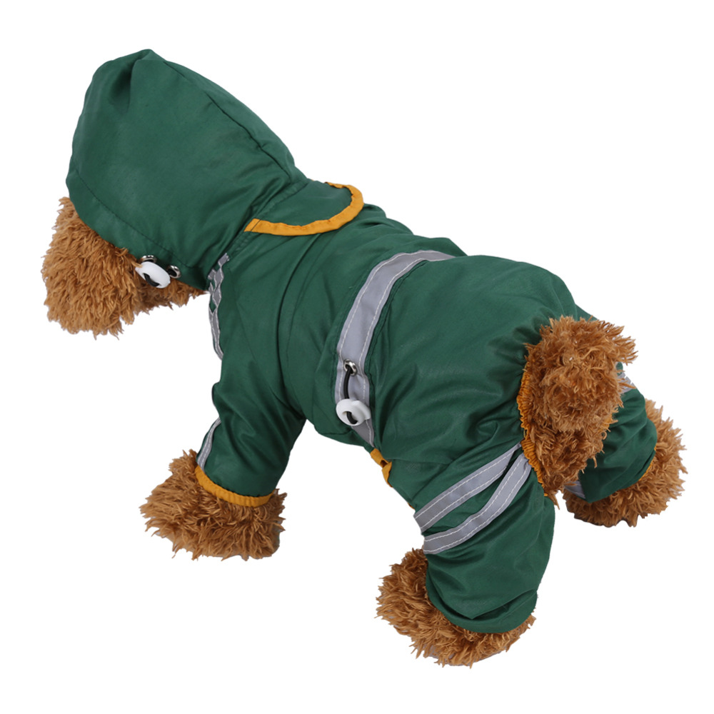 Home & Garden Cat Supplies 8-35 Inch Pet Clothes For Dogs Cats Small Large Dog Raincoat Waterproof Jumpsuit Coat With Reflective Chihuahua Golden Retriever Products Hot Sale