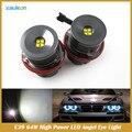 Автомобиль 6000 К Белый E39 32 Вт Angel Eyes Светодиодная Лампа Для E39 E53 E60 E61 горячий продавать