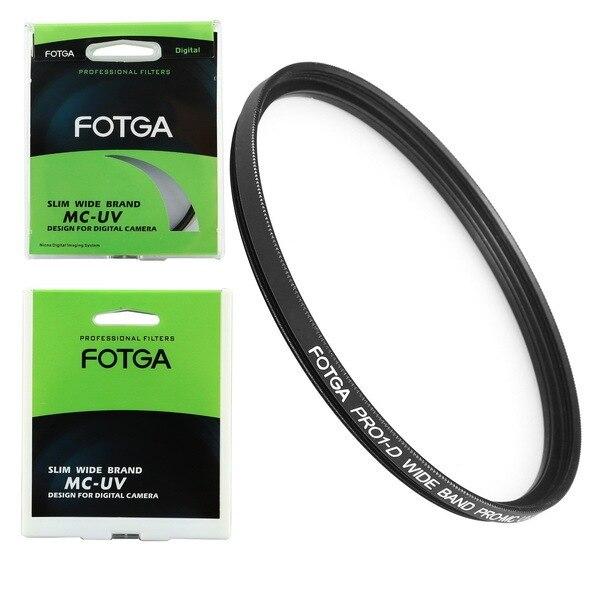 Ультратонкий цифровой фильтр FOTGA 72 мм MCUV с многослойным покрытием, УФ фильтр для 72 мм
