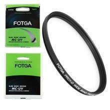 FOTGA 72mm numérique Ultra mince MCUV multi enduit MC UV filtre protecteur pour 72mm