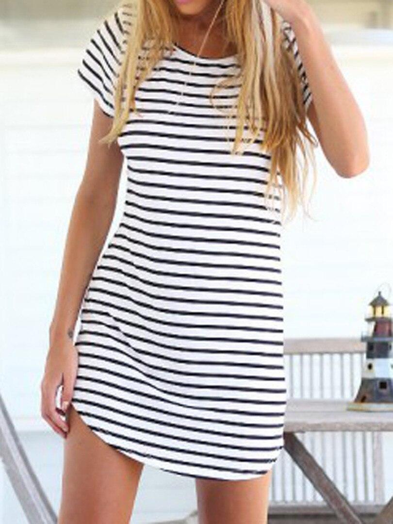 771b7de472ec vestido rayas camiseta