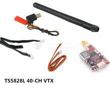 The new mirco FPV 5.8G 40-CH VTX TS5823L 5.8G 200MW TS5828L 600MW for DIY race mini drone QAV-X / QAV-R / QAV250