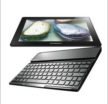 Free shipping 100% Original Aluminum Metal Stand Wireless bluetooth keyboard Case Cover For Lenovo S6000 10.1″ inch Tablet