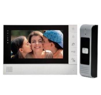 7 Inch Wired Video Doorbell Two Way Intercom Video door phone