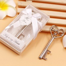 20pcs/lot Key to my Heart Bottle Opener Wedding favors and Gifts Holiday