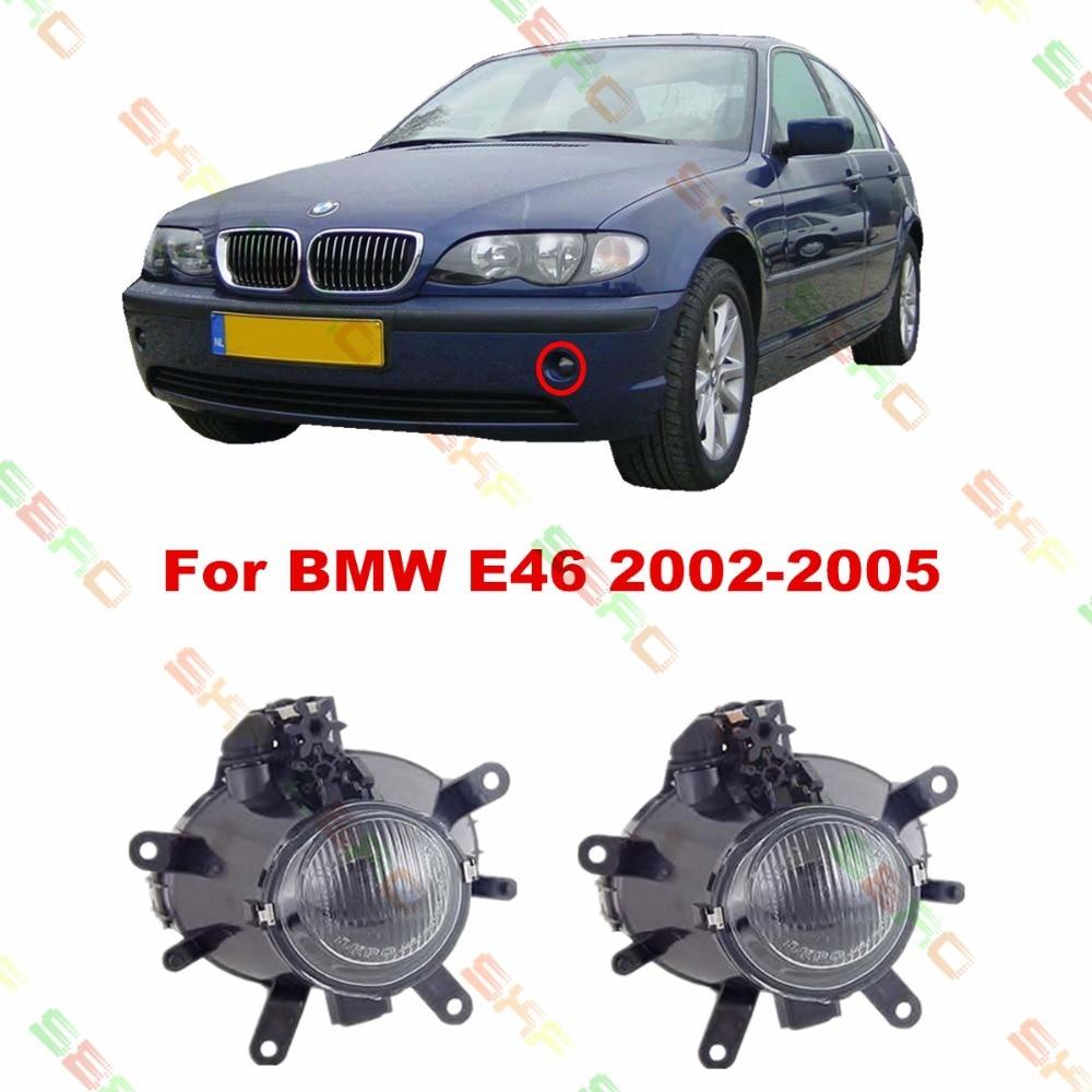 For BMW E46  2003/04/05  car styling fog lights   1 SET FOG LAMPS car styling fog lamps for bmw e91 touring 2005 2007 1 set