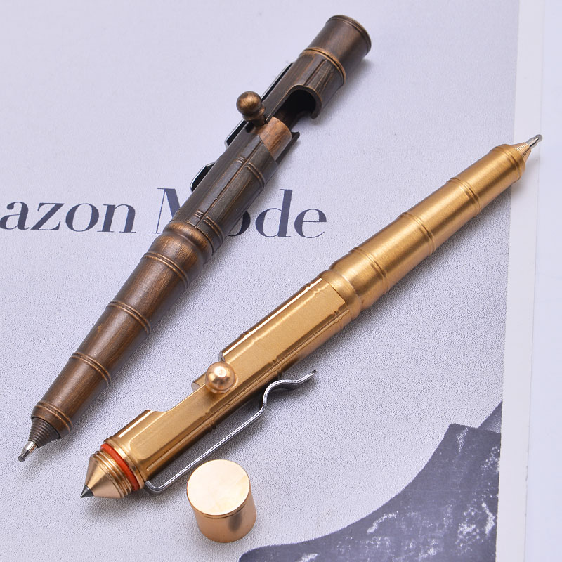 2019 High Quality Portable Tungsten Steel Attack Head Tactical Pen Outdoor Sports Hiking Emergency Self-defense Supplies