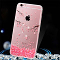 Rhinestone Glitter Silicone Cover For Iphone 6 6s Luxury Crystal Diamond Soft Shell Water/Dirt/Shock Proof
