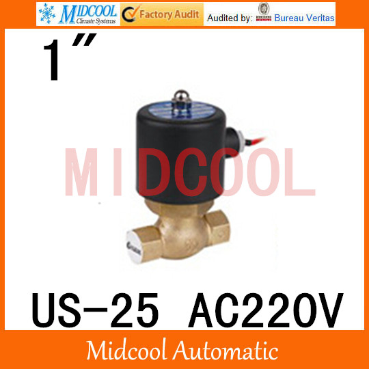 US-25 High quality high temperature steam solenoid valve AC220V port 1 two position, two way high quality high temperature steam solenoid valve dc24v two position two way us 15