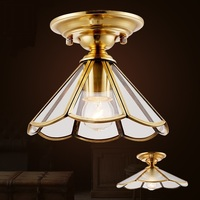 copper top copper home lamp living room welding bedroom entrance entrance lighting ceiling light ZA623 ZL165 YM ZA10