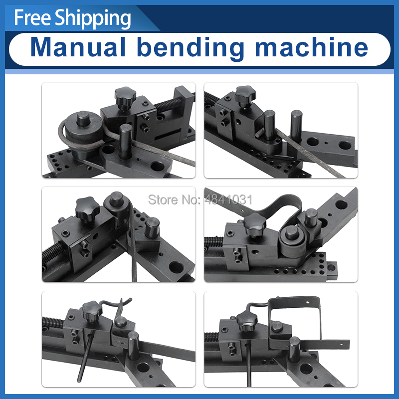 SIEG Bending machine Manual Bender S N 20012 Five generation PLUS universal bending machine Update Bend