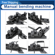 SIEG Bending machine Manual Bender S/N:20012 Five-generation PLUS universal bending machine Update Bend machine sieg s n 20008 tapping scew machine small sieg diy hand tapping machine kit