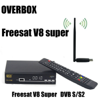 Free USBWIFI overbox Freesat V8 Super 3G IPTV digital Satellite tv receiver DVB-S2 1080p hd support newcamd scart