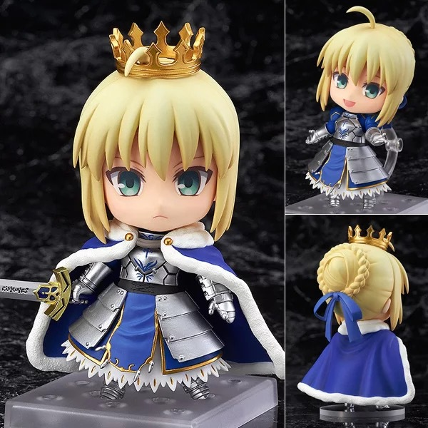 Figure Unboxing and Review: Nendoroid #600: Saber/Altria Pendragon figurine ( China Version )